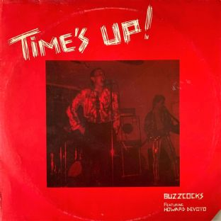 Buzzcocks Featuring Howard Devoto ‎- Time's Up! (LP) (EX-/G)